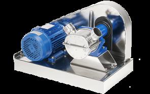 Купить импеллерный насос с соединением через ременную передачу